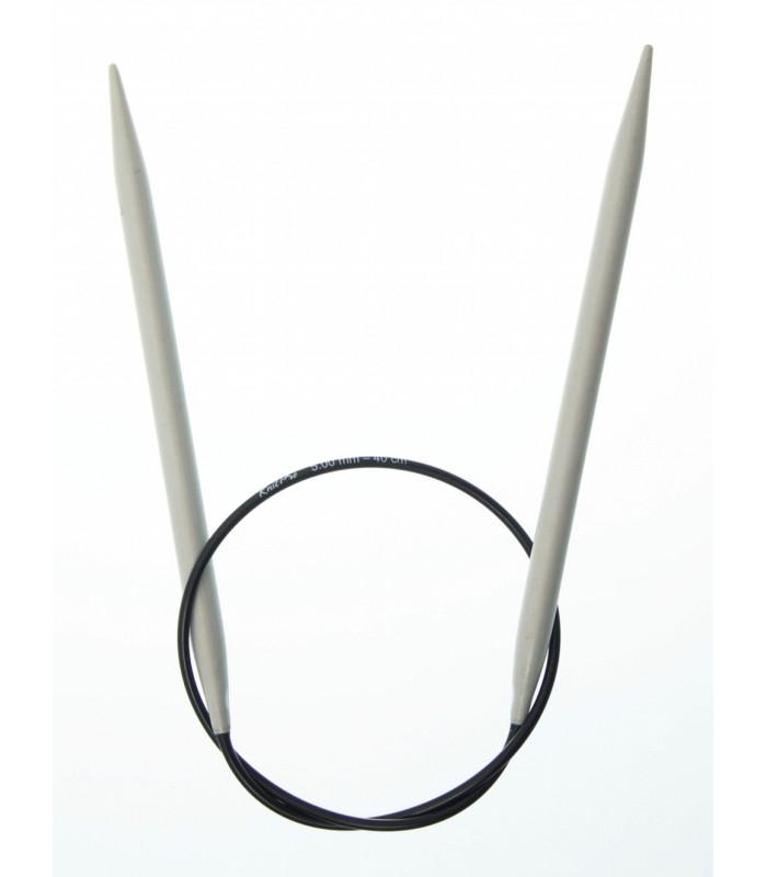 Ferri Circolari DROPS B. - Alluminio 40 cm.
