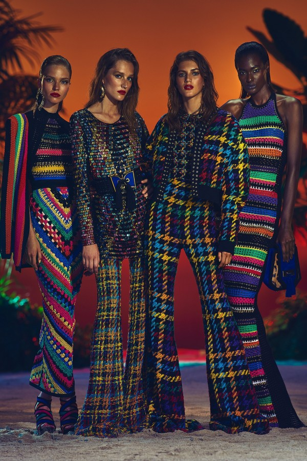 Balmain-CROCHET-DRESS